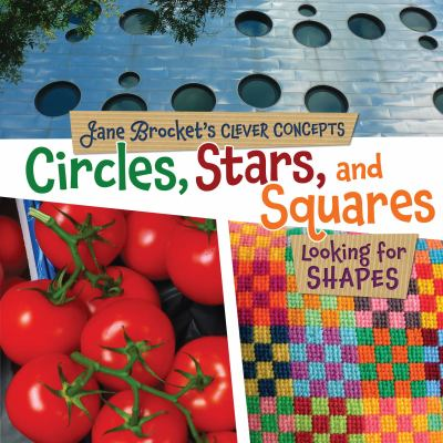 Cover image for Circles, stars, and squares : looking for shapes