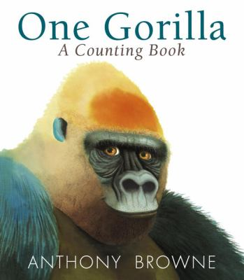 Cover image for One gorilla : a counting book