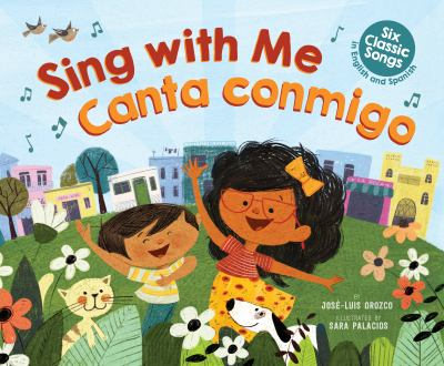 Cover image for Sing with me = Canta conmigo