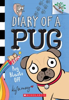 Cover image for Pug blasts off