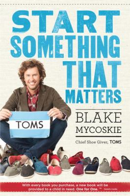 Cover image for Start something that matters