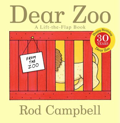 Cover image for Dear zoo : a lift-the-flap book