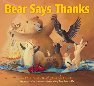 Cover image for Bear says thanks