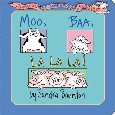 Cover image for Moo, baa, la la la