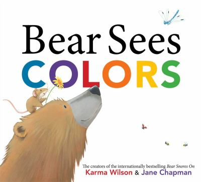 Cover image for Bear sees colors