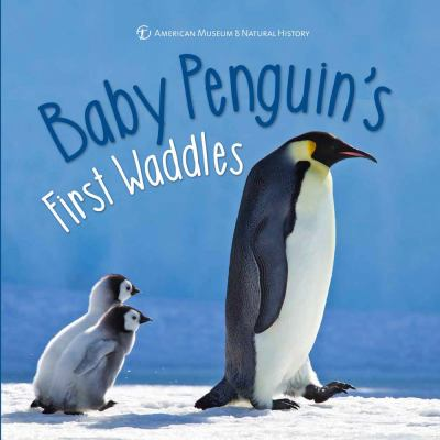 Cover image for Baby penguin's first waddles