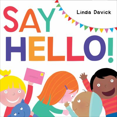 Cover image for Say hello!