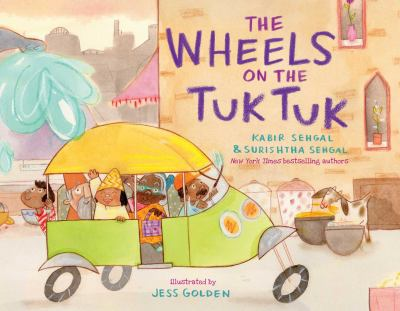 Cover image for The wheels on the tuk tuk