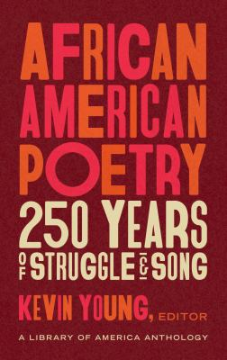 Cover image for African american poetry : 250 years of struggle and song