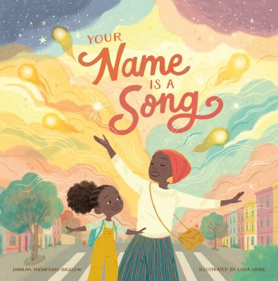 Cover image for Your name is a song