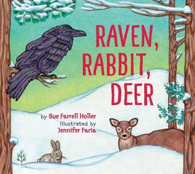 Raven,-rabbit,-deer