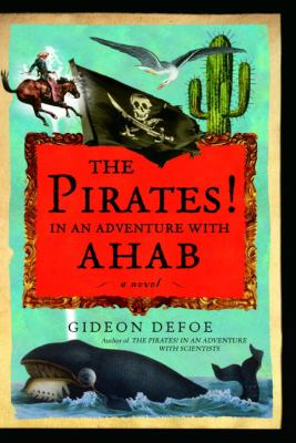 book cover image water with whale, pirate flag, man on horse, seagull, cactus