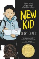 New Kid by Jerry Craft  Book Cover
