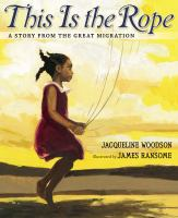 This is the Rope By Jacqueline Woodson Book Cover