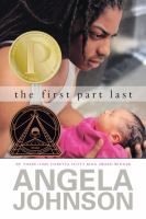 The First Part Last by Angela Johnson   Book Cover