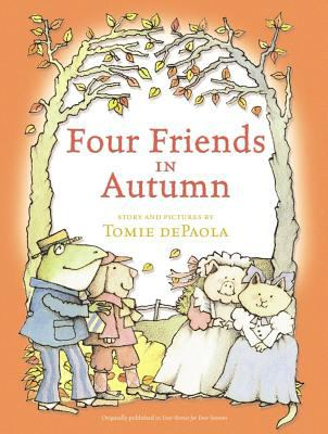 Cover image for Four friends in autumn