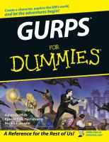 Cover image for GURPS for dummies