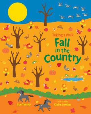 Cover image for Taking a walk : fall in the country