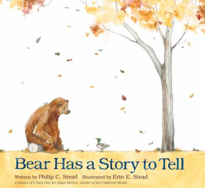 Cover image for Bear has a story to tell