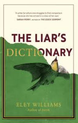 Cover image for The Liar's Dictionary [hardback]