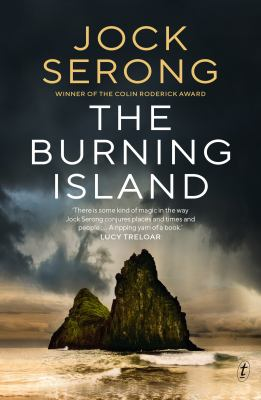 Cover image for The Burning Island [paperback]