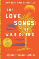 The Love Songs of W.E.B. Du Bois cover
