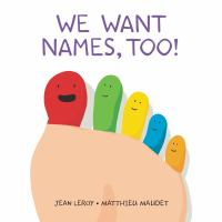 We Want Names, Too! cover
