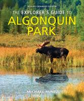 The Explorer's Guide to Algonquin Park cover