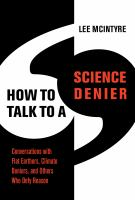 How To Talk to a Science Denier cover