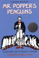 Mr. Popper's Penguins cover
