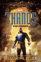 Thanos, Titan consumed cover