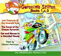 Geronimo Stilton, Books 1 to 3 cover