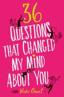 36 questions that changed my mind about you cover