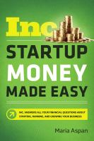 Startup money made easy cover