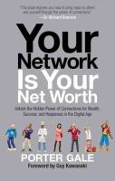 Your network is your net worth cover