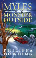 Myles and the monster outside cover