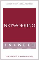Networking in a week cover