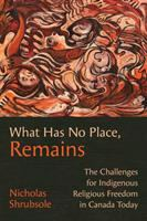 What Has No Place, Remains: The Challenges for Indigenous Religious Freedom in Canada… cover