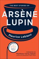 The Best Stories of Arsene Lupin cover