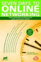 Seven days to online networking  cover