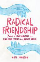 Radical Friendship cover