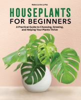 Houseplants for Beginners cover