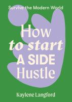 How to Start A Side Hustle cover