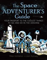 The space adventurer's guide : your passport to the coolest things to see and do in… cover