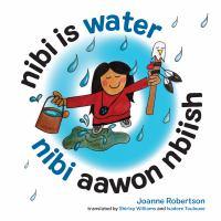Nibi is Water / Nibi Aawon Nbiish cover