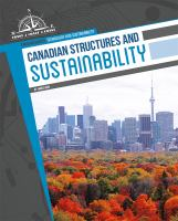 Canadian structures and sustainability cover