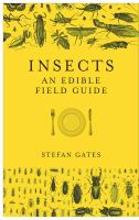 Insects: an edible field guide cover