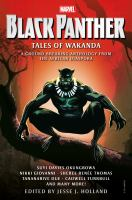 Black Panther: Tales of Wakanda cover