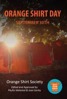 Orange Shirt Day: September 30th cover