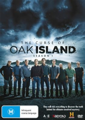 Cover image for The curse of Oak Island [DVD]. Season 1.